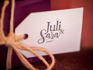 La boda de Sara y Juli 2
