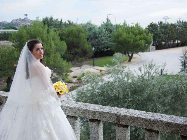 La boda de Alejandro y Raquel en Torrelodones, Madrid 11