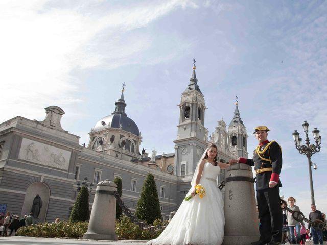 La boda de Alejandro y Raquel en Torrelodones, Madrid 34