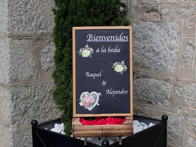 La boda de Alejandro y Raquel en Torrelodones, Madrid 42