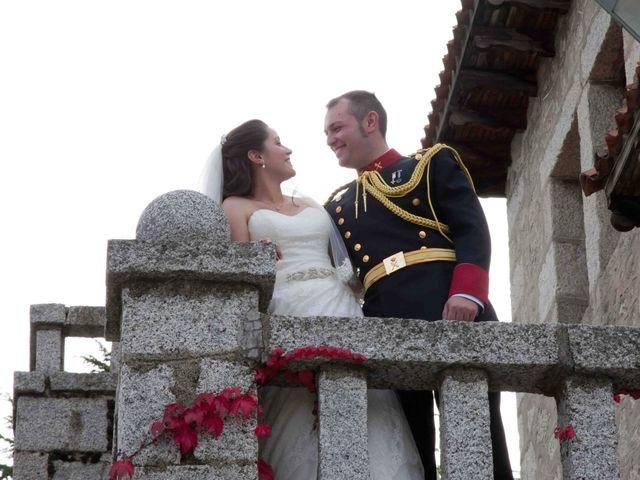 La boda de Alejandro y Raquel en Torrelodones, Madrid 45