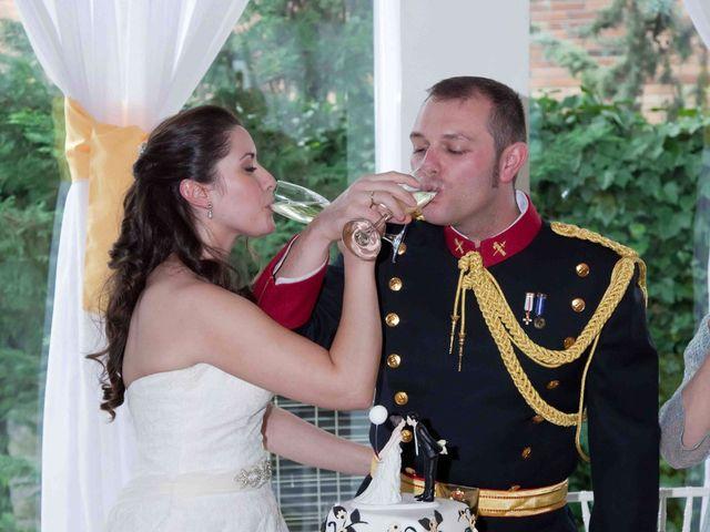 La boda de Alejandro y Raquel en Torrelodones, Madrid 50