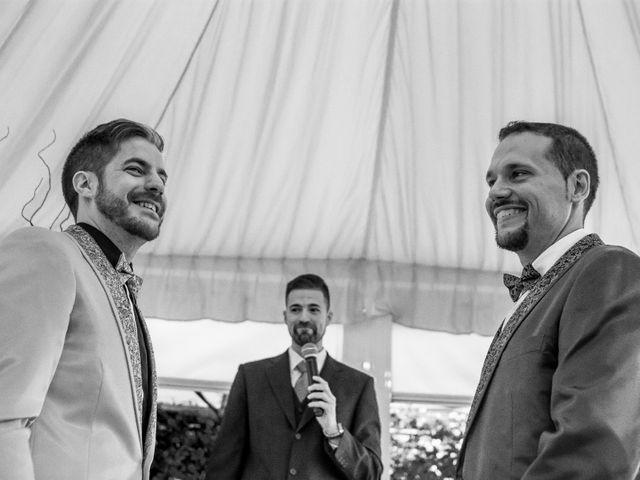 La boda de Abel y Juan