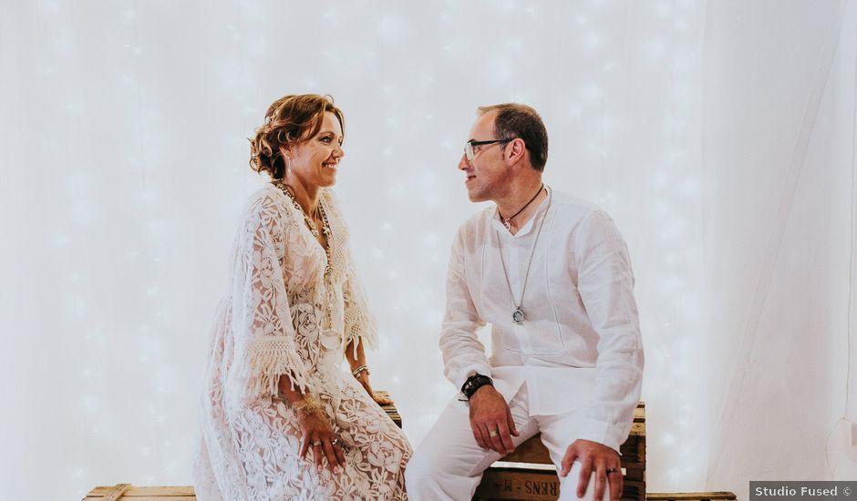 La boda de Josep y Ángles en Santa Maria (Isla De Ibiza), Islas Baleares