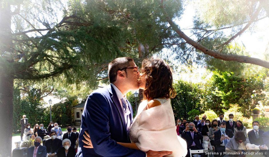 La boda de Alberto y Beatriz en Guadarrama, Madrid