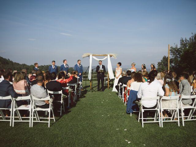 La boda de Matt y Amanda en Estanyol, Girona 33