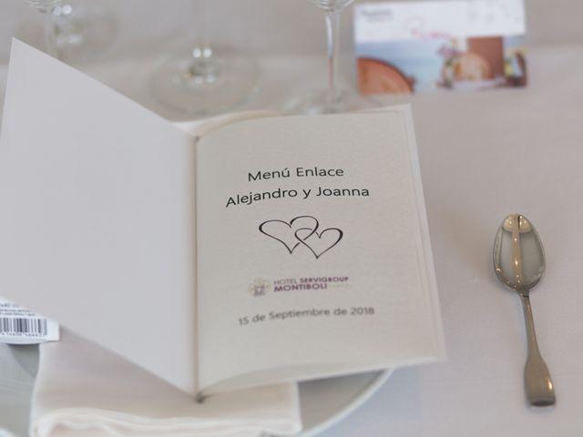 La boda de Alejandro y Johanna en La/villajoyosa Vila Joiosa, Alicante 17