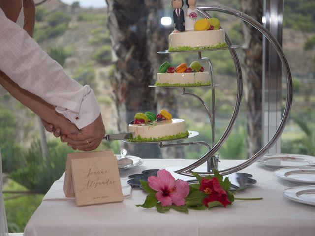 La boda de Alejandro y Johanna en La/villajoyosa Vila Joiosa, Alicante 19