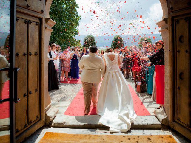 La boda de Amaia y Oihane