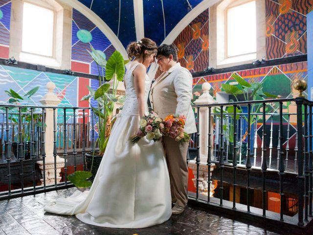 La boda de Oihane y Amaia en Villacarriedo, Cantabria 33