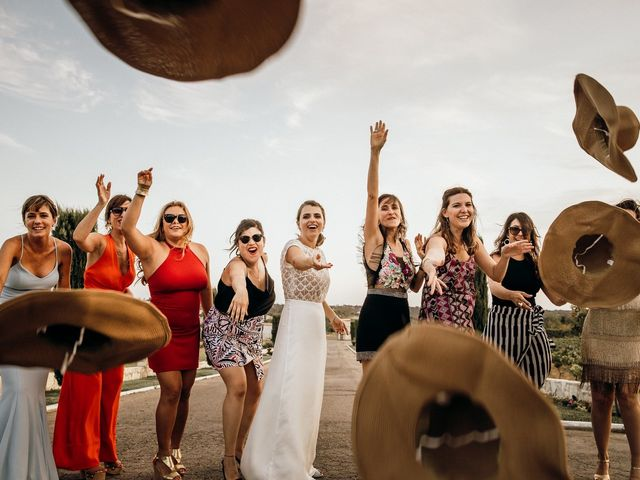 La boda de Juan Manuel y Carolina en La Torre De Esteban Hambran, Toledo 1