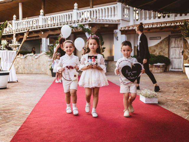 La boda de Mari Angeles y David en Benajarafe, Málaga 33