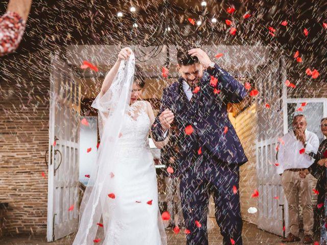La boda de Mari Angeles y David en Benajarafe, Málaga 38