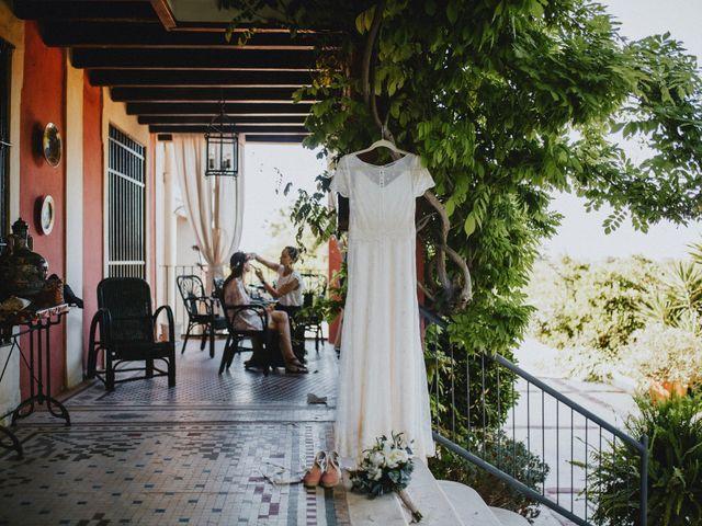 La boda de Alba y Ceci en Picanya, Valencia 3
