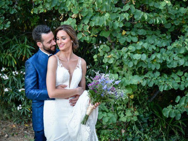 La boda de Carlos y Miriam en Arenys De Munt, Barcelona 12