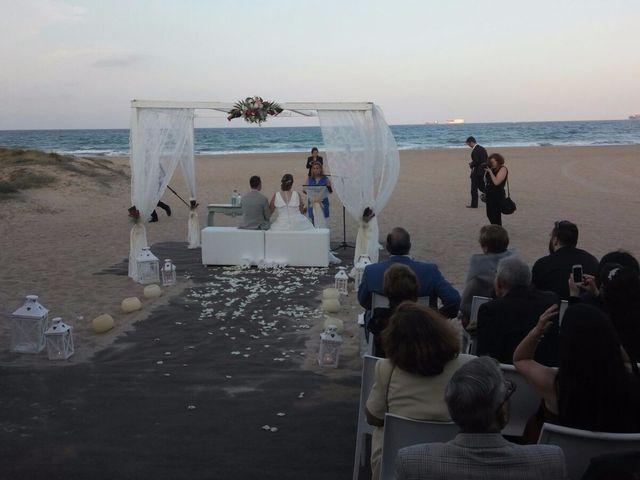 La boda de Fernando  y Silvia en El Saler, Valencia 1