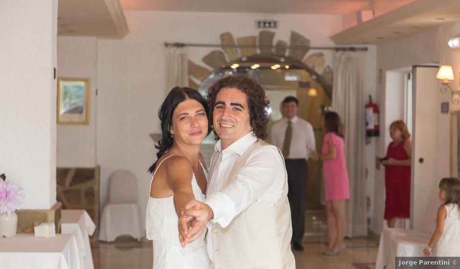 La boda de Alejandro y Johanna en La/villajoyosa Vila Joiosa, Alicante