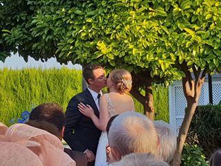 La boda de Nathalie y David