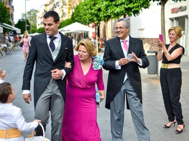 La boda de Javier y Cristina en Santiponce, Sevilla 34