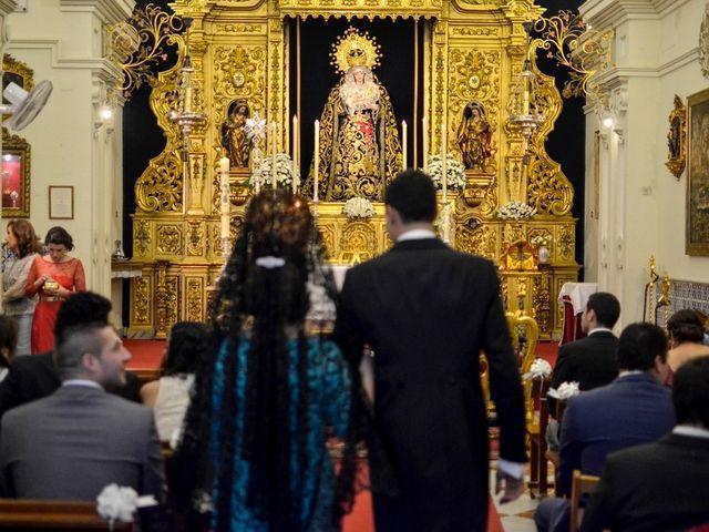 La boda de Javier y Cristina en Santiponce, Sevilla 41