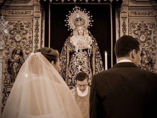 La boda de Javier y Cristina en Santiponce, Sevilla 46