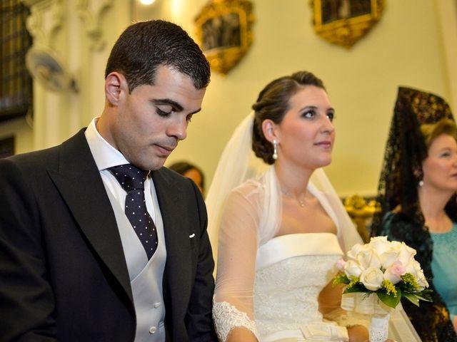La boda de Javier y Cristina en Santiponce, Sevilla 51