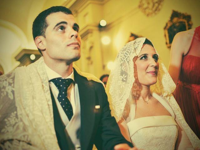 La boda de Javier y Cristina en Santiponce, Sevilla 61
