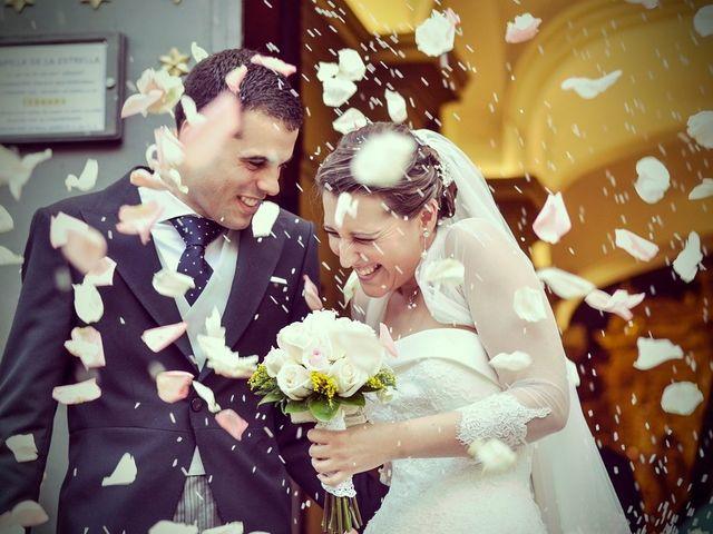 La boda de Javier y Cristina en Santiponce, Sevilla 1