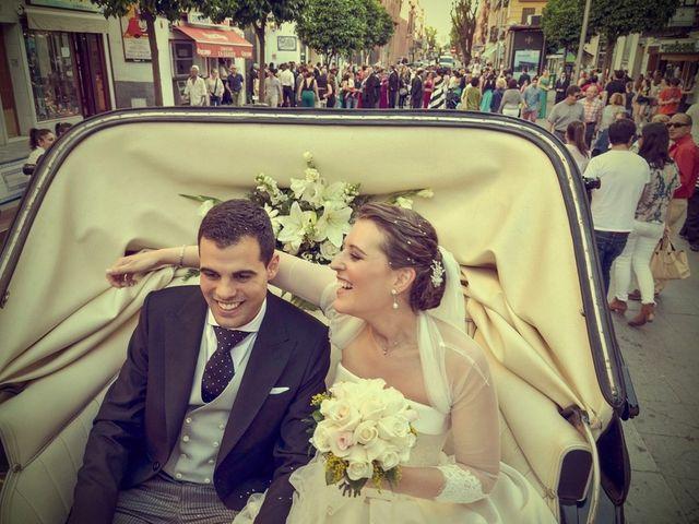 La boda de Javier y Cristina en Santiponce, Sevilla 64