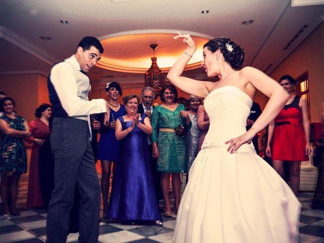 La boda de Javier y Cristina en Santiponce, Sevilla 94