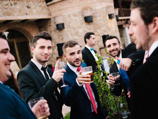 La boda de Samuel y Anabel en Mangiron, Madrid 12