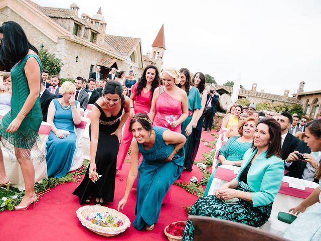 La boda de Samuel y Anabel en Mangiron, Madrid 23