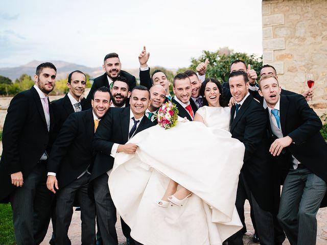 La boda de Samuel y Anabel en Mangiron, Madrid 50