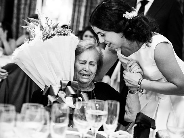 La boda de Samuel y Anabel en Mangiron, Madrid 1