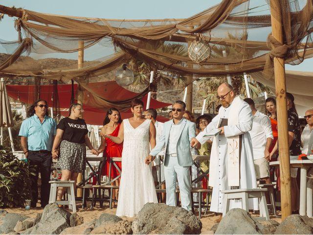 La boda de Antonio y Germania en El Palmar, Santa Cruz de Tenerife 6
