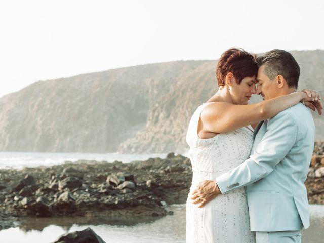 La boda de Antonio y Germania en El Palmar, Santa Cruz de Tenerife 13
