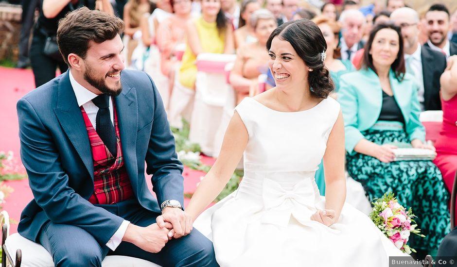 La boda de Samuel y Anabel en Mangiron, Madrid