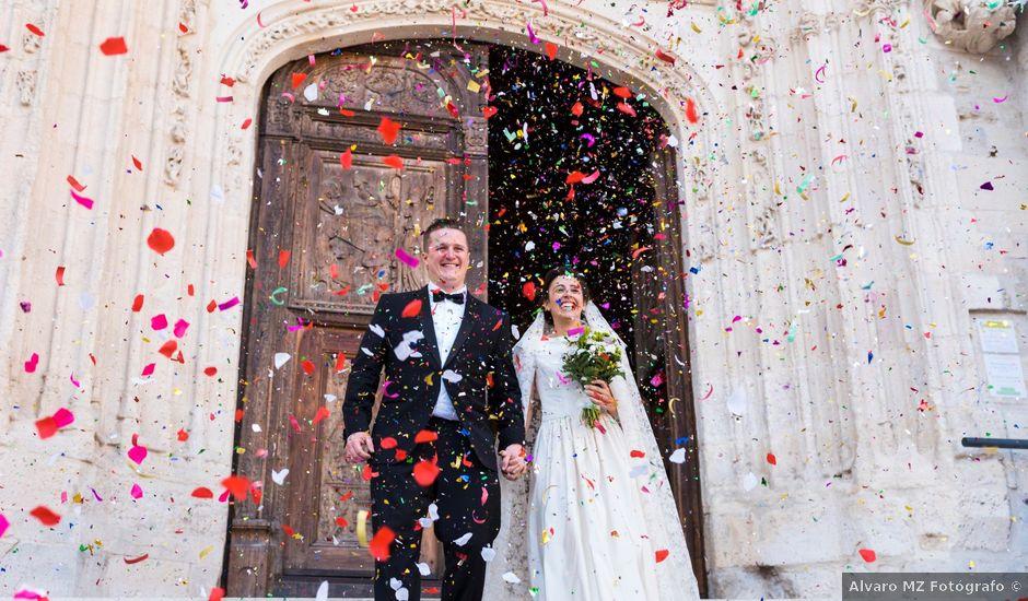 La boda de Brendan y Teresa en Burgos, Burgos
