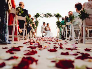 La boda de María y Isaac