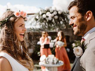 La boda de Oana y Martín