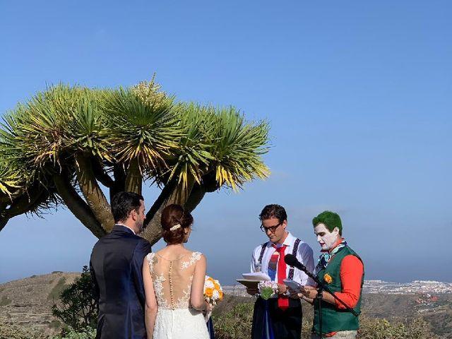 La boda de Idaira y Ivan en Santa Brigida, Las Palmas 2