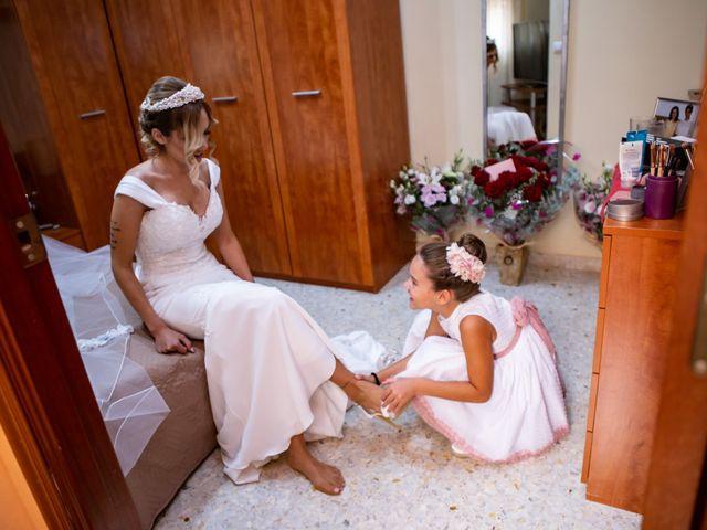 La boda de Fernando y Irene en La Puebla Del Rio, Sevilla 1