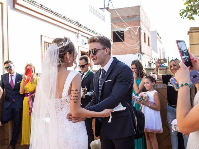 La boda de Fernando y Irene en La Puebla Del Rio, Sevilla 42