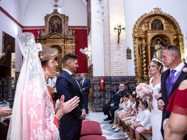 La boda de Fernando y Irene en La Puebla Del Rio, Sevilla 46