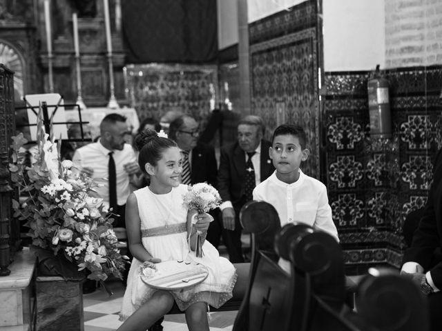 La boda de Fernando y Irene en La Puebla Del Rio, Sevilla 50