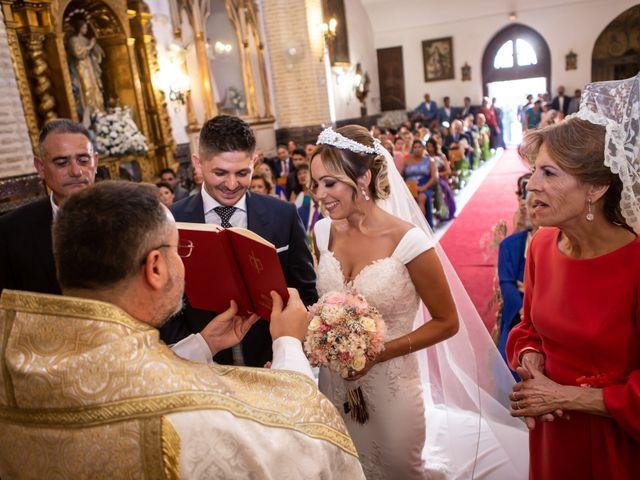 La boda de Fernando y Irene en La Puebla Del Rio, Sevilla 53