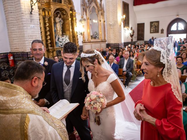 La boda de Fernando y Irene en La Puebla Del Rio, Sevilla 59