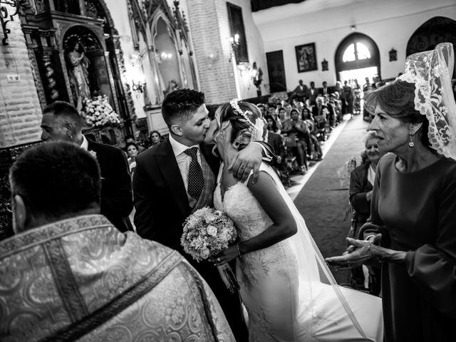 La boda de Fernando y Irene en La Puebla Del Rio, Sevilla 65