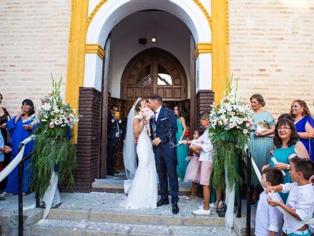 La boda de Fernando y Irene en La Puebla Del Rio, Sevilla 84
