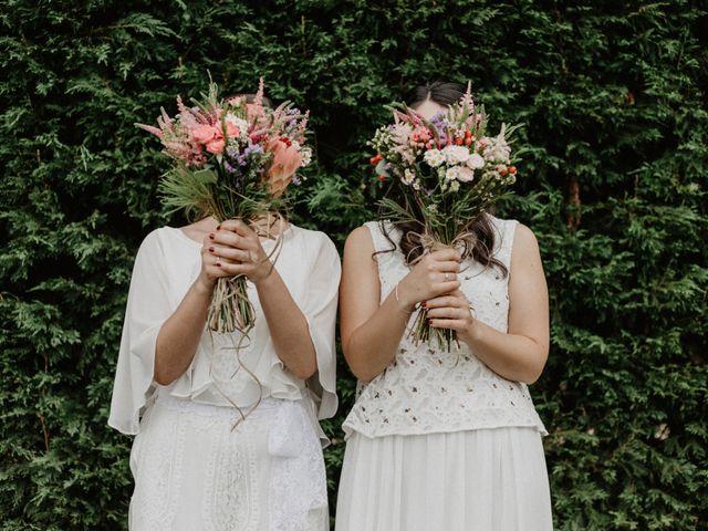 La boda de Tatia y Lara